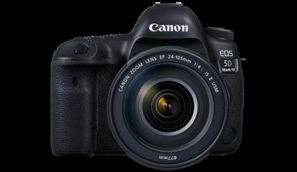 Canon EOS 5D Mark IV (4) DSLR Camera Body Only