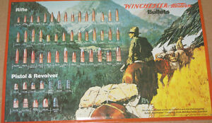 Winchester Collectible-Embossed Metal Sign
