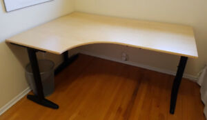 Ikea Corner Desk with round extension (not shown)