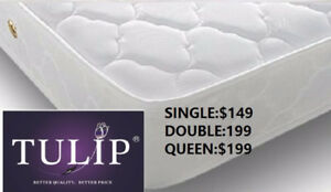 █♣█TULIP BRAND NEW~ECONO PLUSHTOP MATTRESS~FACOTRY OFFER