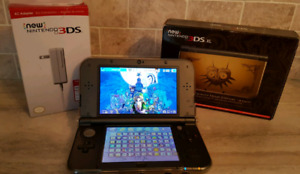 New Nintendo 3DS XL Majora's Mask Edition with over 100 games!