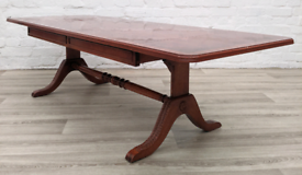 Regency Style Drop Leaf Coffee Table (DELIVERY AVAILABLE)