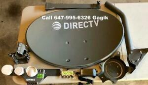 Satellite TV Directv Shaw Direct Commercial installations and service Sport Bars Hotel