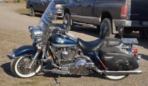 Harley Davidson seat and back rest