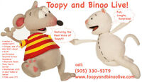 TOOPY and BINOO LIVE at YOUR PARTY!!! Perfect Birthday Gift!