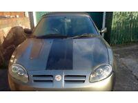 MG MGTF Convertible 2003 - Grey