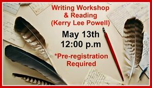 Writing Workshop & Reading with Kerry Lee Powell
