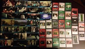 Star Wars CCG and Wide Vision cards