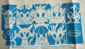 Pokemon Fabric Bag Evevui collection from Pokemon center