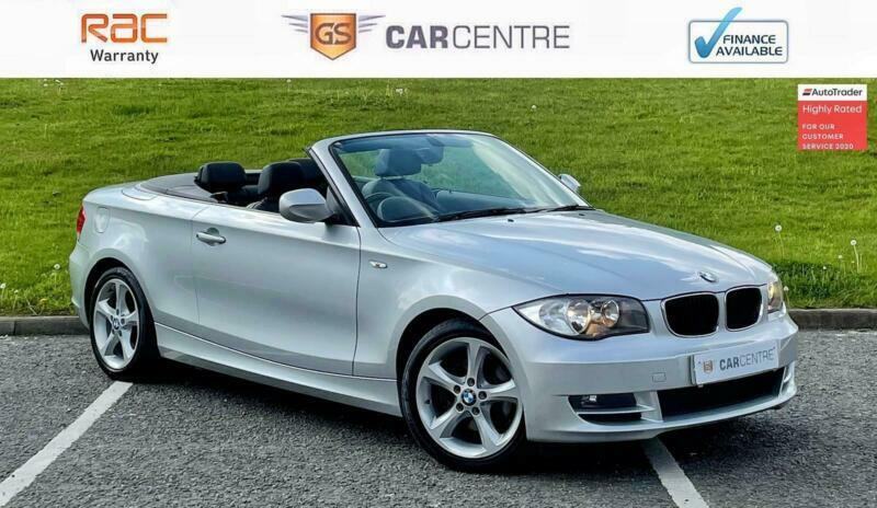 2009 BMW 1 Series 120i Sport 2dr Step Auto CONVERTIBLE Petrol Automatic