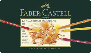 Faber-Castell 60 Polychromos Coloured Pencils - UNOPENED