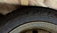 """STUDDED 16"""" Winter Tires with rims"""