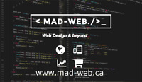 Web Design, Wordpress, E-Commerce, Seo, SMM and more!【MAD-Web】