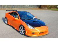 Toyota Celica vvti not rs gti turbo custom modified