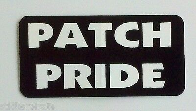 3 - Patch Pride Roughneck Lunch Box Hard Hat Oil Field Tool Box Helmet Sticker