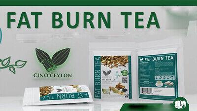 FAT BURN TEA 30 BAGS Best ingredients for Speedy Weight (Best Fat Burning Ingredients)