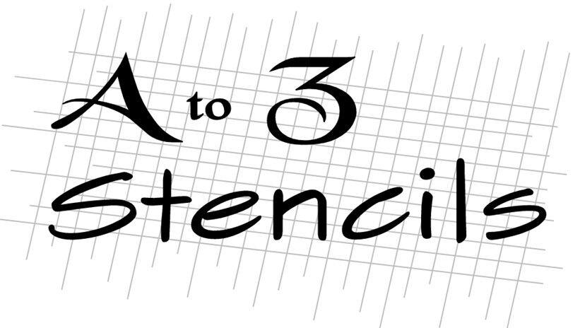 A-to-Z-Stencils