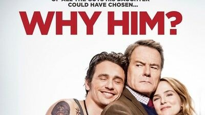 WHY HIM? DVD + DIGITAL BRAND NEW SEALED *PLEASE READ*