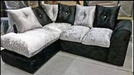 Brand new crushed velvet sofa sets🤩🤩top quality🤩🤩fast delivery🚚🚚