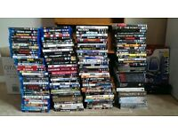 DVDs and Blurays.