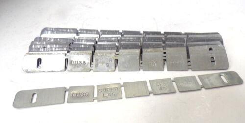 BUSSMANN, SUPER-LAG RENEWAL LINKS, LKS40, 600V, 50A, LOT OF 24