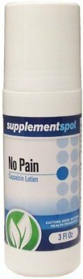No Pain Capsaicin Lotion 3 oz. Tripple Strength (New Packaging 50% More)