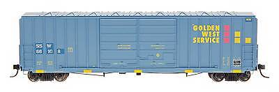 Intermountain Ho 48317 Golden West Ssw Blockout Fmc 5283 Cu  Ft  Boxcar