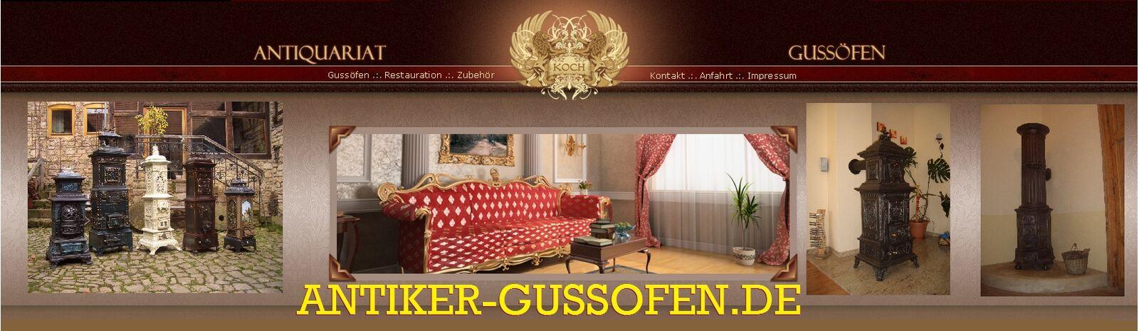 Antiker-Gussofen de