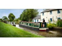 Canal boat from Market Harborough from 4 to 11 june.