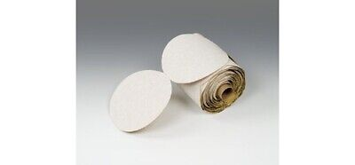 40 Off 3 Rolls 3m 214u 5 P100 Grit White Gold Paper Disc Roll 125roll 81803