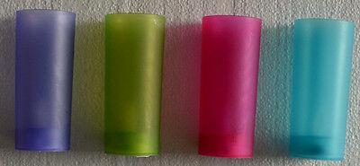 4er Set Teelichter LED Teelichter Kerzen flammenlos Neu ()