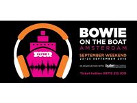 2x Bowie on the Boat tickets