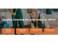 DOMESTIC CLEANING, OFFICE CLEANING, END OF TENANCY CLEANING, DEEP CLEANING AND IRONING