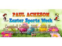 Paul Acheson Easter Sports Week for Children