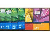 AS/A level Maths Edexcel (C1,C2,C3,C4,S1,M1)