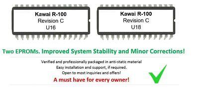 Kawai R-100 - Revision C Firmware Update Upgrade OS for R100 12-Bit Drummachine segunda mano  Embacar hacia Spain