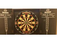 WINMAU DART BOARD SET BARGAIN