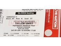 Heavily discounted! Taylor Swift ticket great seat Ethihad Stadium