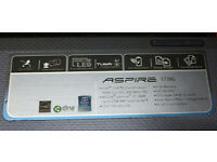 Acer Aspire 5739G laptop with 4GB RAM, 320GB HDD, 2.2GHz Core 2 Duo CPU