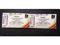 X2 Ricky Gervais tickets Portsmouth guildhall 11/04/2017