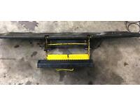 Ford transit rear foldable steps to suit box van ,