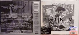 elvis presley 2 x cd album, a touch of platinum, a life in music, vol 1