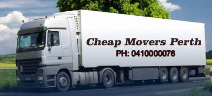 FROM $69 PER HOUR  2 MEN & TRUCK,CHEAP MOVERS-REMOVALS IN PERTH