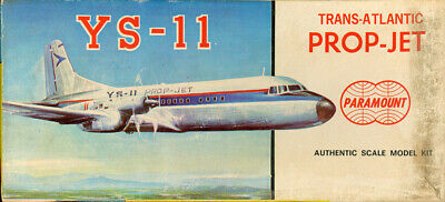Paramount 1:150 Trans-Atlantic Prop-Jet YS-11 Plastic Aircraft Model Kit -