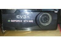 EVGA GTX 680 Graphics Card £75