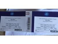 2 x Olly Murs tickets