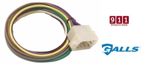 Galls Street Thunder ST110 Siren 12 Port Pin Plug Power Harness Connector New