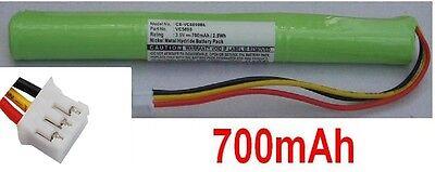 Battery 700mAh type VC5090 For Symbol VC5090-MA0QM0GH6WR