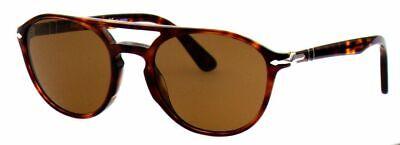 Persol Sonnenbrille Herren 3170-S 9015/57 52mm polarisiert havana rund S CC1 H