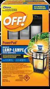 OFF!® PowerPad® Mosquito Lamp - NEW, Out of Box